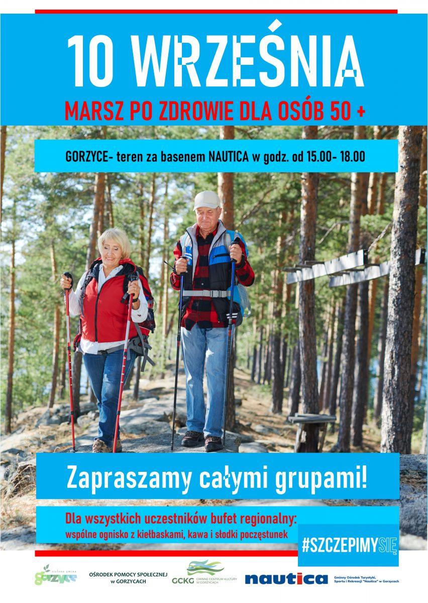 Informacja na temat akcji marsz po zdrowie